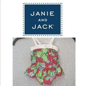 Janie and Jack bathing suit swim size 3-6 months